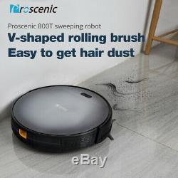 Proscenic 800T Alexa Robot Robotic Vacuum Cleaner Carpet Dry Wet Mopping 2nd Gen