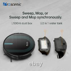 Proscenic 850P Alexa Robot Robotic Vacuum Cleaner Carpet Dry Wet Mopping 4nd Gen
