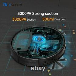 Proscenic Alexa Robotic Vacuum Cleaner 360° Pet Wet Dry Vacuum Mopping Robot