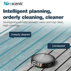 Proscenic Robotic Vacuum Cleaner Robot Carpet Mop Floor Dry Wet Auto Rechargable