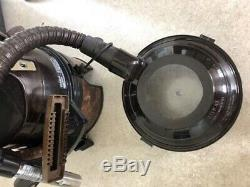 RAINBOW Black And Brown Vacuum Cleaner Power Nozzle Wet And Dry Great Condition