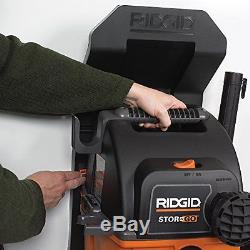 RIDGID Wet Dry Vacs VAC5000 Portable Wall Mount Wet Dry Vacuum Cleaner for Shop