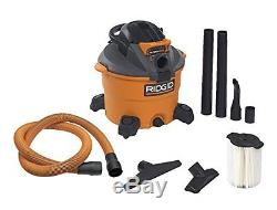 RIDGID Wet Dry Vacuums VAC1200 Heavy Duty Wet Dry Vacuum Cleaner and Blower Vac