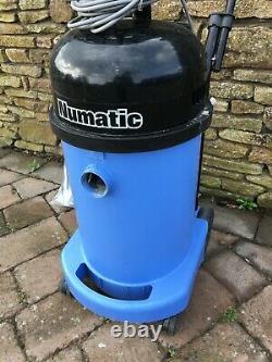 Refurbished Numatic WV470-2 Blue Wet & Dry Industrial Vacuum Cleaner 240v
