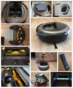 Robot Vacuum Cleaner Map Navigation Smart Memory Suction 3000pa Wet Dry Mop