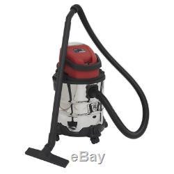 Sealey CORDLESS PC20SD20V Vacuum Cleaner Wet & Dry 20ltr 20V Car Home Workshop