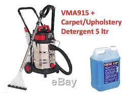 Sealey VMA915 & 1 Gallon Car Valet Machine Wet/Dry Carpet Upholstery Cleaner