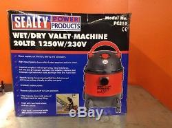Sealey Vm914 Wet/dry Carpet Cleaner/vacuum/car/van/valeting Machine