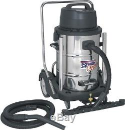 Sealey Wet & Dry Vacuum Cleaner 77ltr Stainless Drum 2400With230V