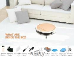 Smart Robot Vacuum Cleaner 2in1 Dry Wet Cleaning Water Tank Intelligent 1300PA