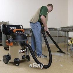 Stainless Steel Wet Dry Vacuum 16 Gallon Cleaner Shop Vac 6.5 Peak HP Blower New