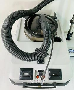 Thermax AF Gray Carpet Steam Cleaner, Vaccum, Wet Dry, Power Head, Tested Working