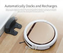 V5s Pro Intelligent Robot Vacuum Cleaner 1000PA Suction Dry and Wet Mopping