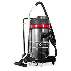 Vacuum Cleaner Industrial Wet & Dry Shop Vac Home 3000 W 80l Bagless Free P&p