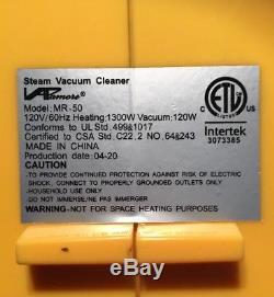 VAPamore MR-50 Steam-Vac 3 In 1 Steam Cleaner Wet-Dry Vacuum