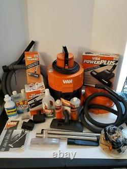VAX 221 Canister Wet Dry Shop Vac Carpet Cleaner Vacuum TESTED 1989 Vintage RARE