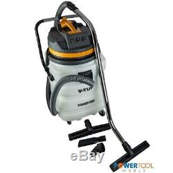 V-TUF MAMMOTH 90L 3000w Wet & Dry Vacuum Cleaner inc Accessories 240v