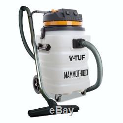 V-TUF Mammoth 110V Wet & Dry Vacuum Cleaner Hoover 2000W Powerful Industrial 90L