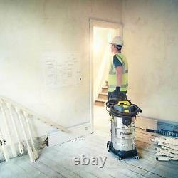 Vacmaster M Class Dust Extractor 110V 38L Wet & Dry cleaner with Power Take Off