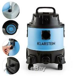 Vacuum Cleaner Wet Dry Commercial Industrial Stainless Steel Shop Vac 20L 1250W