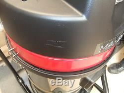 Vacuum Cleaner Wet & Dry Industrial Extra Power StainlessSteel 80L Hoover A2436