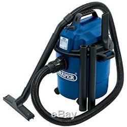 Vacuum Cleaner Withdry 15l 230v- Draper Wet Dry 1250 Watts 240v