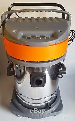 Vacuum cleaner 3000 watts stainles steel wet & dry part no 4u-043