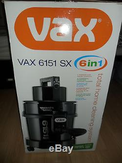 Vax 6151 SX Wet and Dry Multifunction Cleaner + Accesories