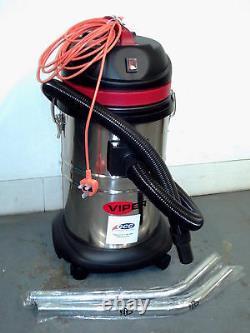 Viper LSU135 35ltr stainless steel drummed wet/dry vacuum cleaner