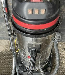 Viper LSU395LSS Industrial Commercial 3000w 95L 3 Motor Wet & Dry Vacuum Cleaner