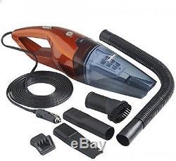Vonhaus Bagless Hand held Vacuum Cleaner Car Vac Hoover Wet+ Dry Van Caravan 12V