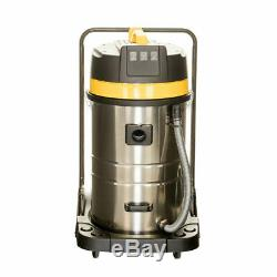 WET AND DRY VAC VACUUM CLEANER INDUSTRIAL 80L LITRE 3000W CARWASH HOOVER New