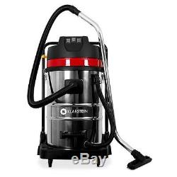 Wet & Dry Vacuum Cleaner Home Shop Vac 3000w 80l Industrial Stainless Steel Room