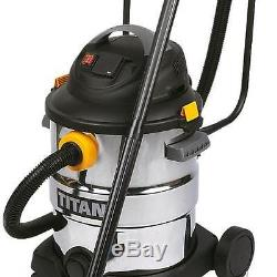 Wet AND Dry Vacuum Cleaner WITH HANDLE Tank Drain Tool Storage CLEANING Blower