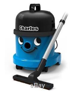 Wet And Dry Charles Cylinder Vacuum Cleaner Blue Black Carpet Hoover Vac Floor