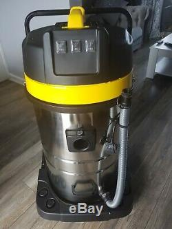 Wet And Dry Vac Vacuum Cleaner Industrial 80l Litre 3000w Carwash Hoover