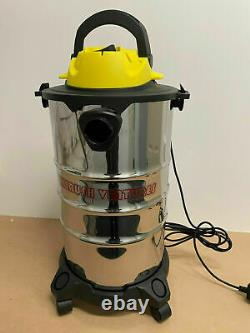 Wet & Dry Vacuum Cleaner Water Dirt Blower Industrial Class 30Liter 2200WT