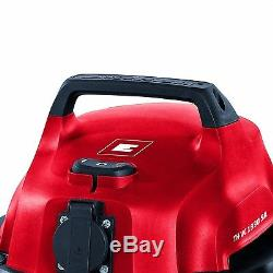 Wet & Dry Vacuum Cleaner Workshop Garage Vac Drain Suction Trade Dust Extractor