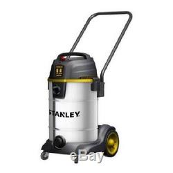 Wet and Dry Vacuum Cleaner Automotive Hard Floor 8 Gallon Stainless Steel Corded