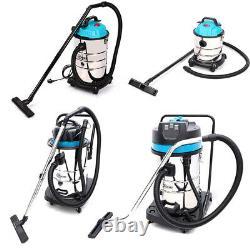 Wet and Dry Vacuum Cleaner Water Dirt Blower Vac HEPA 20/30/50/80L Industrial UK