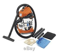 Wet and Dry Vacuum Vac Cleaner Industrial 20ltr 1250w 230v DJM Stainles Steel