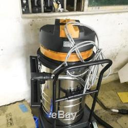 Wet and Dry Vacuum Vac Cleaner Industrial 80L 3000W 220v-240v Stainless Pop