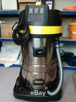 Wido WET AND DRY VAC VACUUM CLEANER INDUSTRIAL 80L LITRE 3000W CARWASH HOOVER