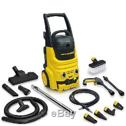 Wolf Blaster Vac Power Pressure Washer 150bar Wet & Dry 700w Vacuum Cleaner